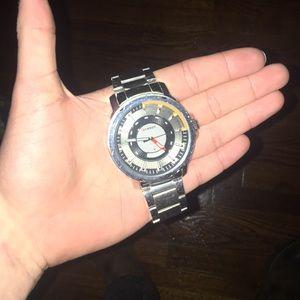 Curren silver watch